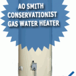 AO Smith Conservationist Gas Water Heater