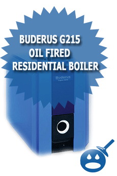 Buderus G215 Oil Fired Residential Boiler