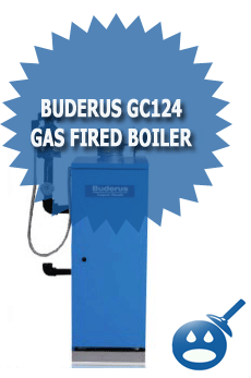 Buderus GC124 Gas Fired Boiler