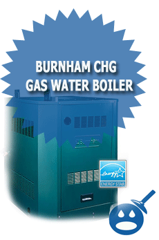 Burnham CHG Gas Water Boiler