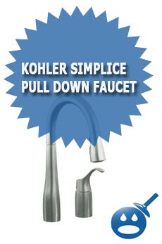 Kohler Simplice Pull Down Faucet
