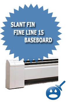 Slant Fin Fine Line 15 Baseboard