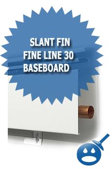 Slant Fin Fine Line 30 Baseboard