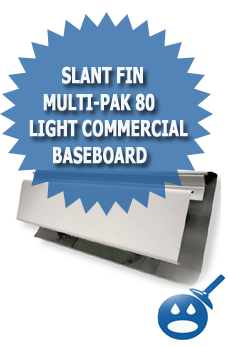 Slant Fin Multi-Pak 80 Light Commercial Baseboard