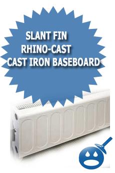 Slant Fin Rhino-Cast Cast Iron Baseboard