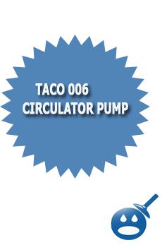 Taco 006 Pump Circulating Pump