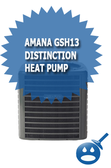 Amana GSH13 Distinction Heat Pump