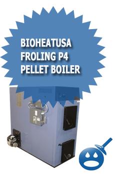 BioHeatUSA Froling P4 Pellet Boiler