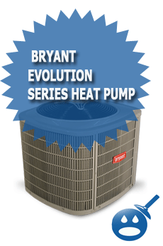 Bryant Evolution Series Heat Pump