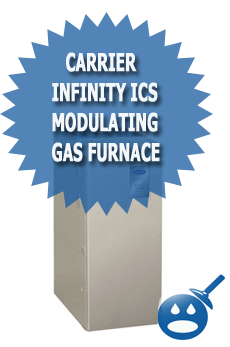 Carrier Infinity ICS Modulating Gas Furnace