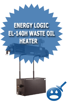 Energy Logic EL-140H Waste Oil Heater