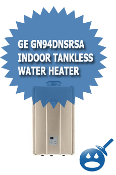 GE GN94DNSRSA Indoor Tankless Water Heater
