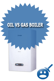 Oil VS Gas Boiler