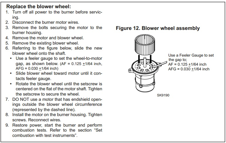 Replace Beckett Oil Burner Blower Wheel how to troubleshoot a beckett oil burner wet head media wiring diagram 12v beckett burner at suagrazia.org