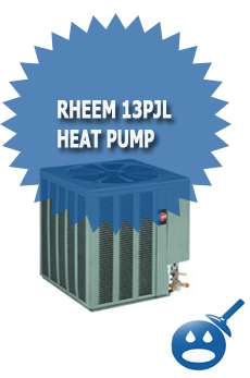 Rheem 13PJL Heat Pump