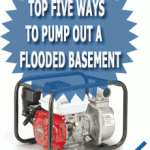 Top Five Ways To Pump Out A Flooded Basement