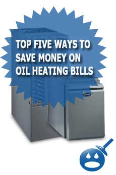 Top Five Ways To Save Money On Oil Heating Bills