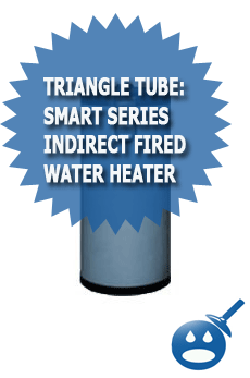 Triangle Tube Smart Series Indirect Fired Water Heater