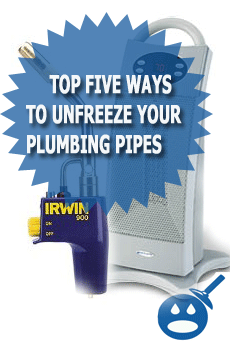 UnFreeze Your Pluming Pipes