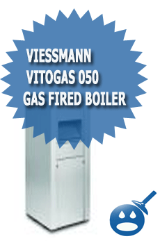 Viessmann Vitogas 050 Gas Fired Hot Water Heating Boiler