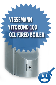 Vissemann Vitorond 100 Oil Fired Hot Water Boiler