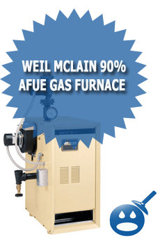 Weil McLain 90% AFUE Gas Furnace