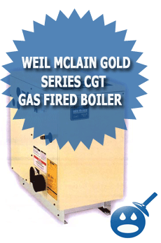 Weil McLain Gold Series CGt Gas Fired Boiler
