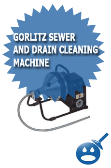 Gorlitz Sewer and Drain Cleaning Machine
