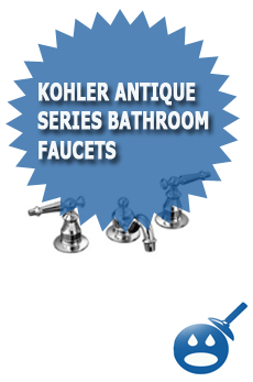 Kohler Antique Series Bathroom Faucets