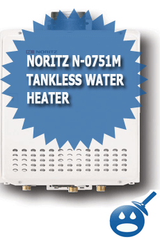 Noritz N-0751M Tankless Water Heater