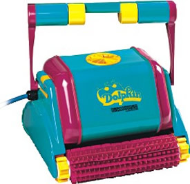 Dolphin Automatic Swimming Pool Cleaner Wet Head Media