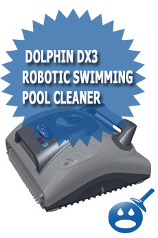 Dolphin dx3 Robotic Swimming Pool Cleaner