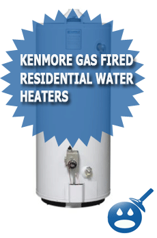 Kenmore Gas Fired Residential Water Heaters