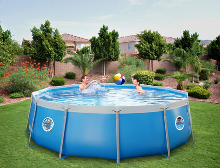 Tuff Above Ground Pools