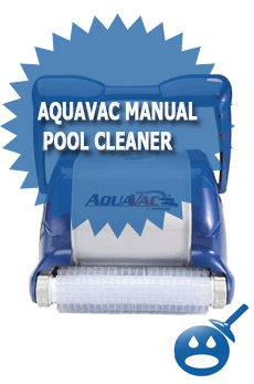 AquaVac Manual Pool Cleaner