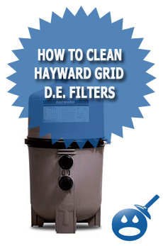 How To Clean Hayward D.E. Pool Filters