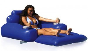 Motorized Pool Lounger By Excalibur