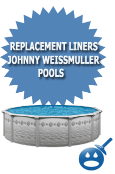 Replacement Liners For Johnny Weissmuller Pools Wet Head