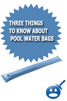 Three Things To Know About Pool Water bags
