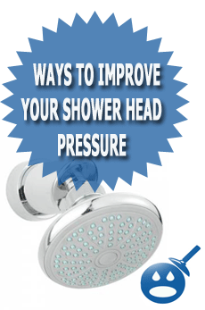 Ways To Improve Your Shower Head Pressure