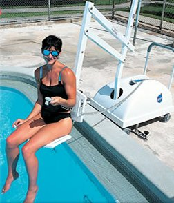 Aquatic Access Swimming Pool Lift Chairs
