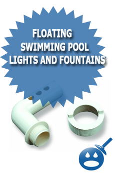Floating Swimming Pool Lights and Fountains