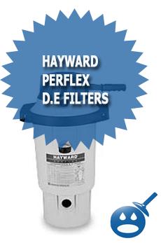 Hayward Perflex D.E Filters