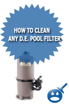 How To Clean Any D.E. Pool Filter