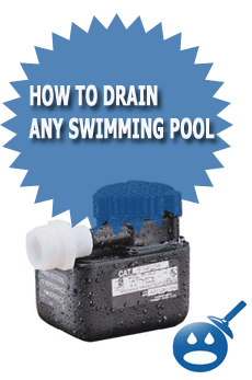 How To Drain Any Swimming Pool