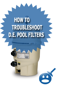 How To Troubleshoot D.E. Pool Filters