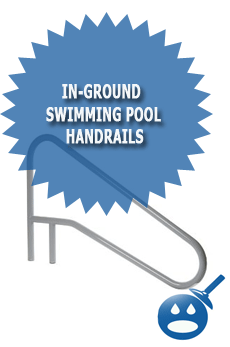 In-Ground Swimming Pool Handrails