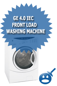 GE 4.0 IEC Front Load Washing Machine