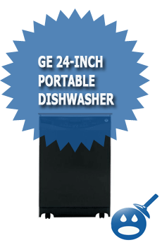 GE 24 Inch Portable Dishwasher