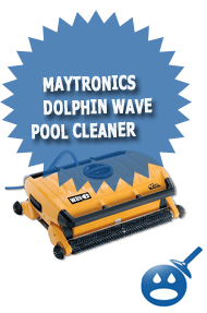 Maytronics Dolphin Wave Pool Cleaner